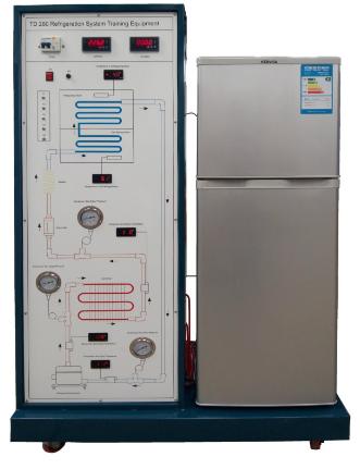 HDK-RET02 电冰箱制冷实训装置
